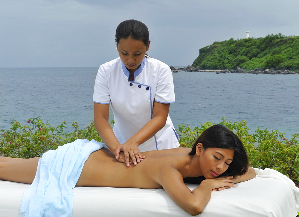 Massage, The Spa at Thunderbird Resort, La Union, Philippines, Southeast Asia, Asia