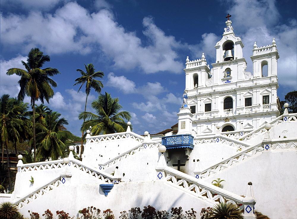 Goa Cathedral, Panjim, Goa, India, Asia