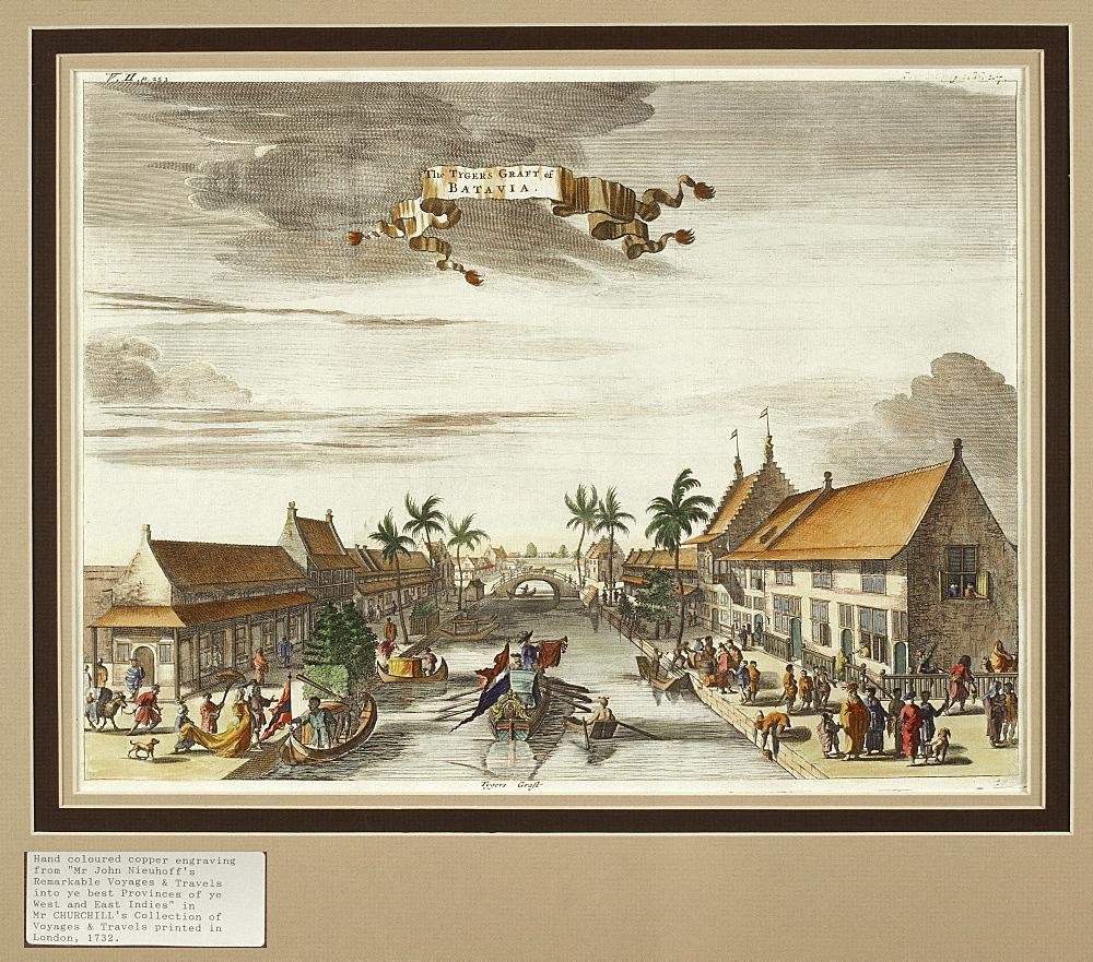 Batavia (Jakarta) in 1723, Java, Indonesia, Southeast Asia, Asia