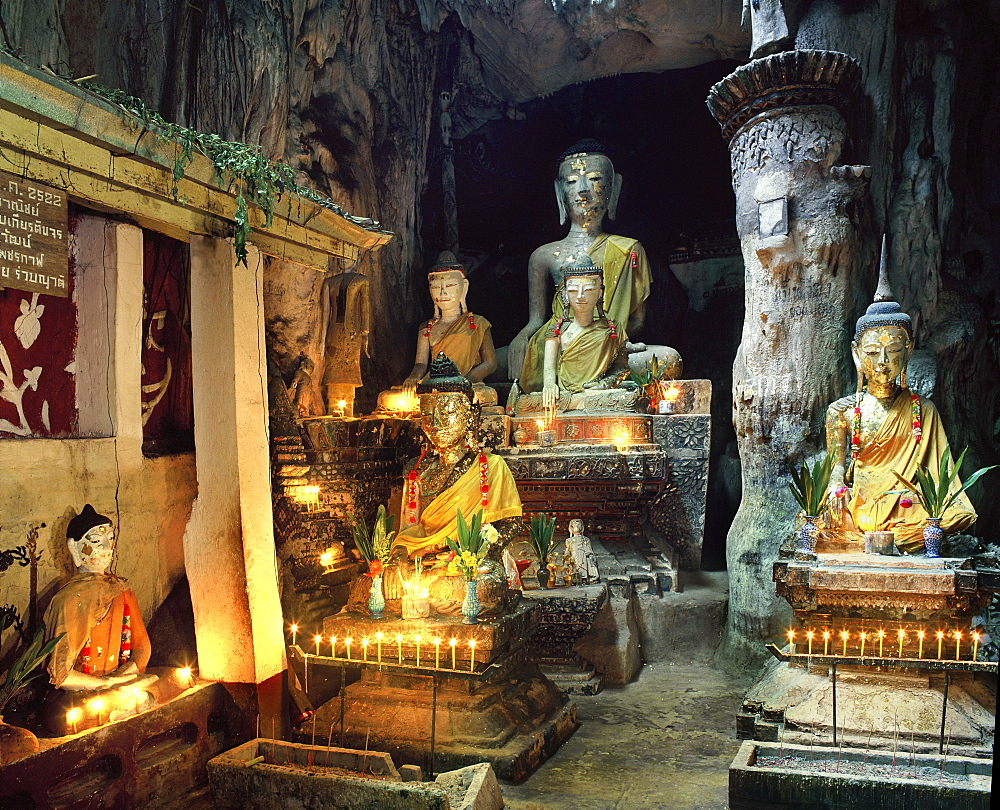 Chiang Dao Cave in Chiang Mai province, Thailand, Southeast Asia, Asia