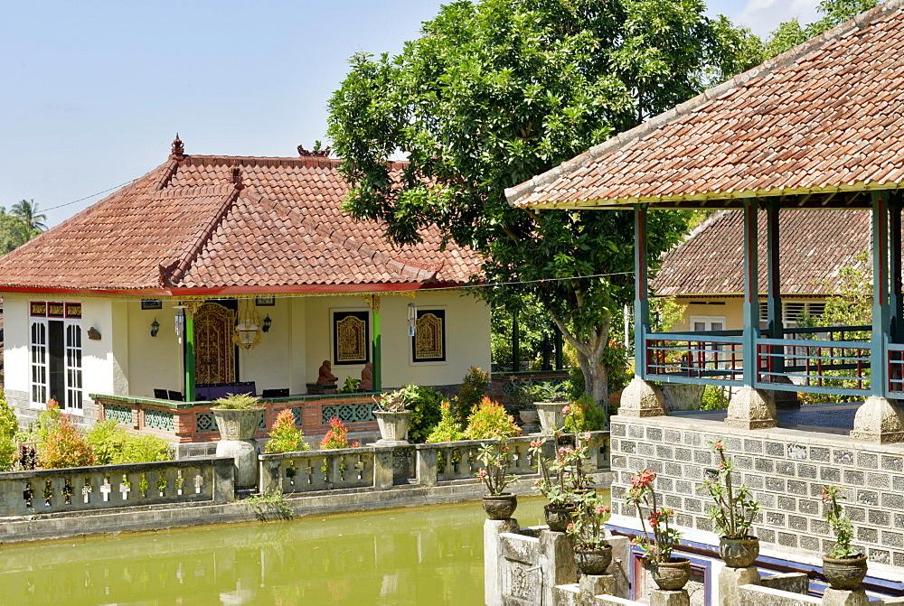 Karangasem Palace in Amlapura, Bali, Indonesia, Southeast Asia, Asia