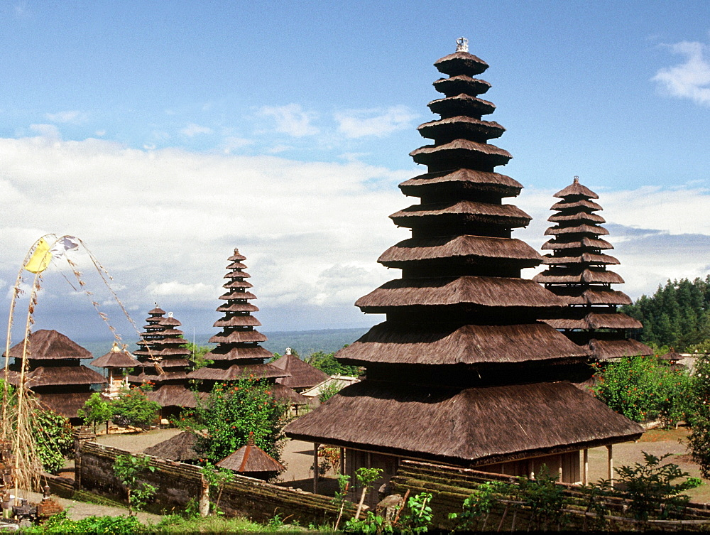 The temple of Pura Besakih, Bali, Indonesia, Southeast Asia, Asia