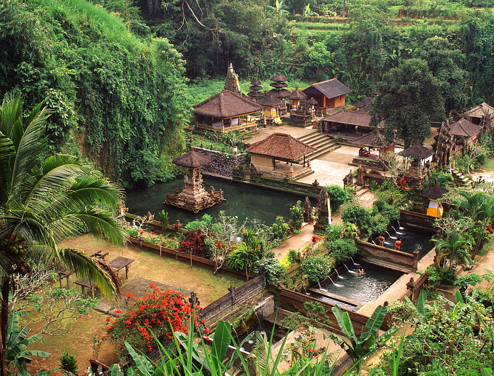 Holy Springs of Sebatu, Bali, Indonesia, Southeast Asia, Asia