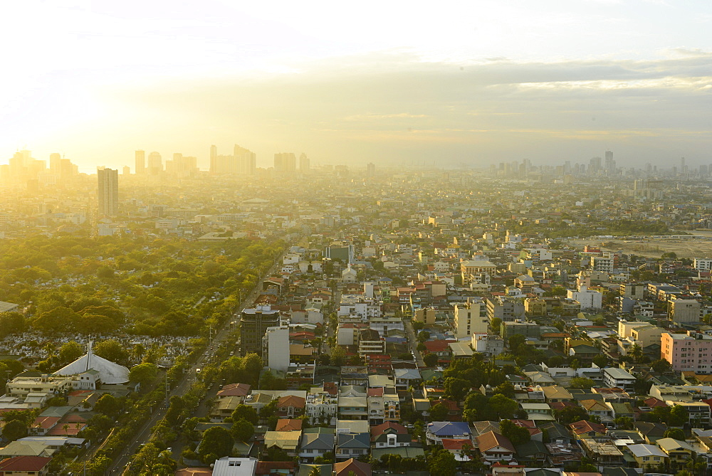View of Makati, Metromanila, Manila, Philippines, Southeast Asia, Asia