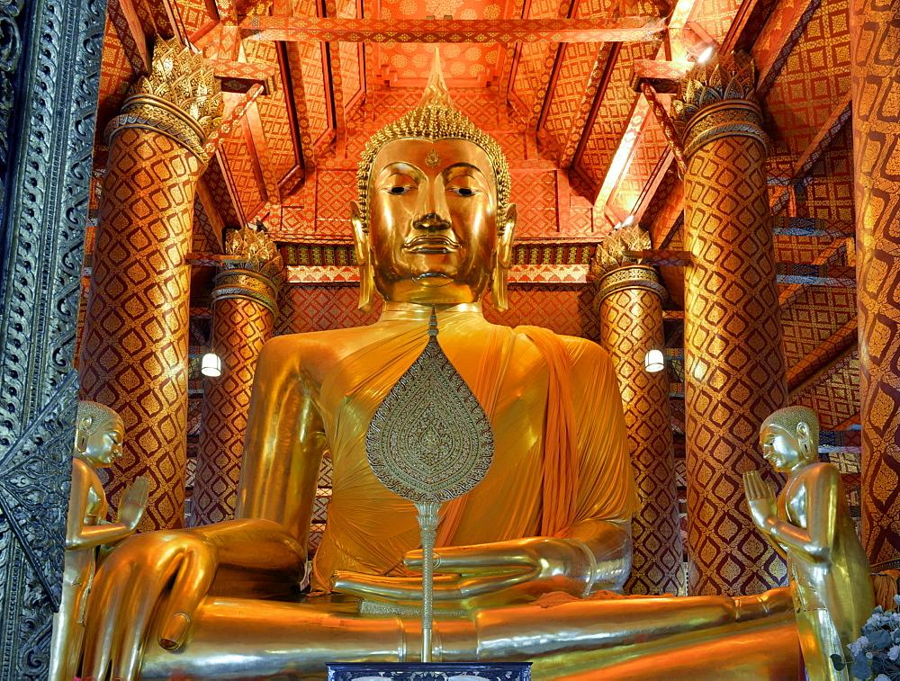 Wat Phanan Choeng, Ayutthaya, UNESCO World Heritage Site, Thailand, Southeast Asia, Asia - 238-6314