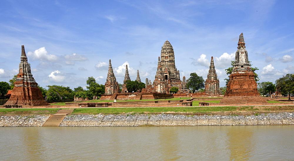 Wat Chai Wattanaram, Ayutthaya, UNESCO World Heritage Site, Thailand, Southeast Asia, Asia - 238-6316