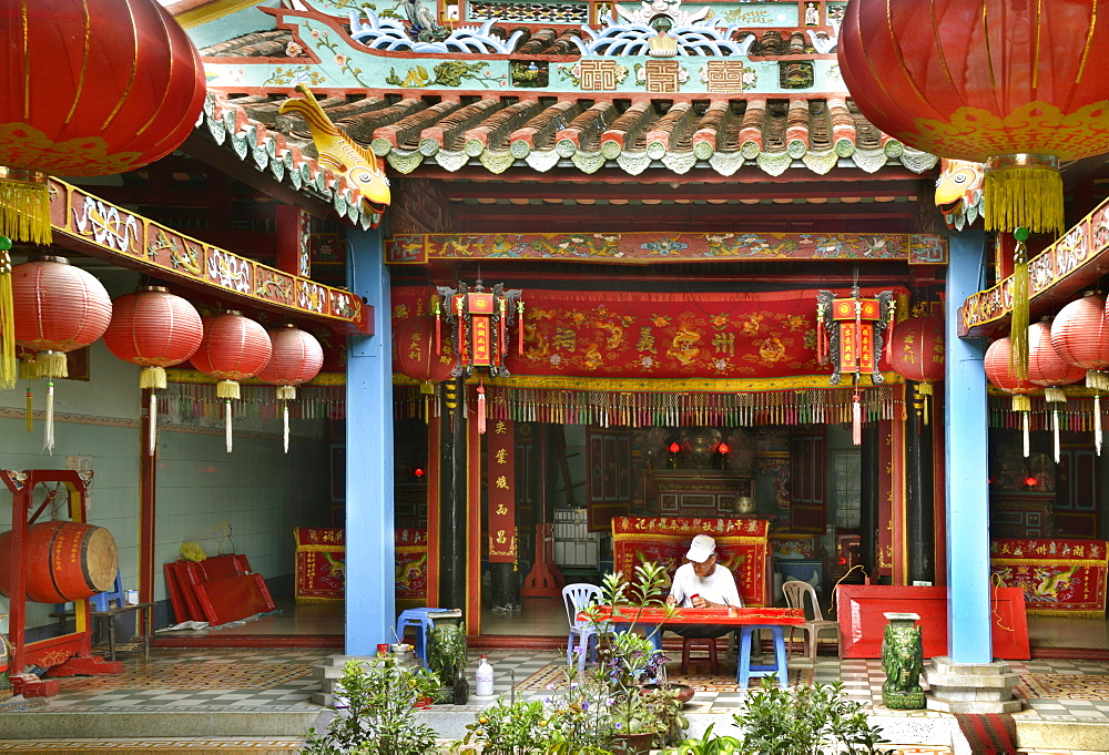 Chinese clan house, Phan Thiet, Vietnam, Indochina, Southeast Asia, Asia