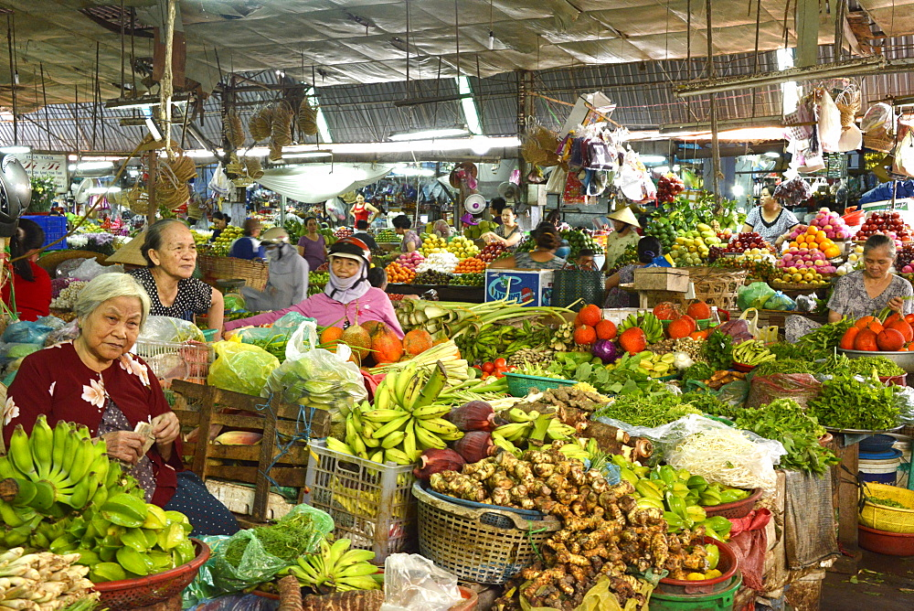 Market, Phan Thiet, Vietnam, Indochina, Southeast Asia, Asia - 238-6346
