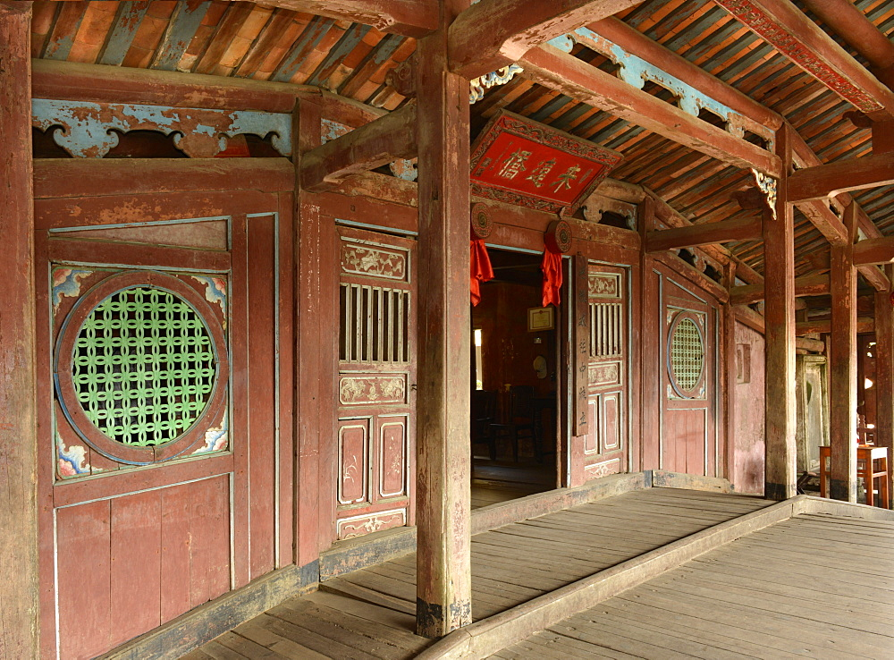Japanese Bridge, Hoi An, UNESCO World Heritage Site, Vietnam, Indochina, Southeast Asia, Asia