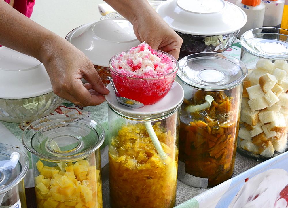 Local desserts, Ko Samui, Thailand, Southeast Asia, Asia - 238-6374