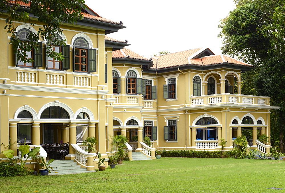 Pracha House, mansion of a turn-of-the-century rubber baron, Phuket, Thailand, Southeast Asia, Asia
