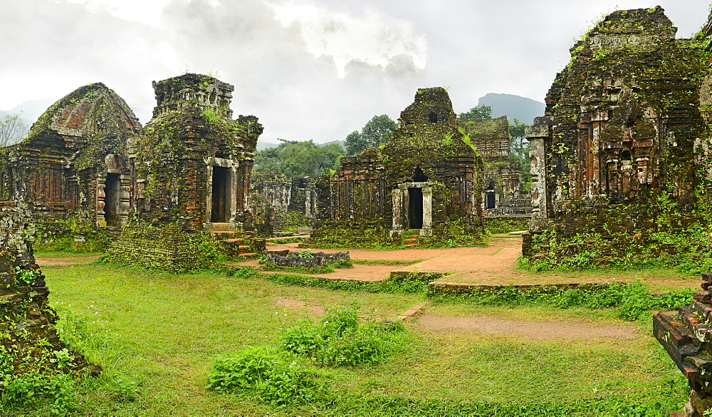My Son Group of temples, UNESCO World Heritage Site, Vietnam, Indochina, Southeast Asia, Asia