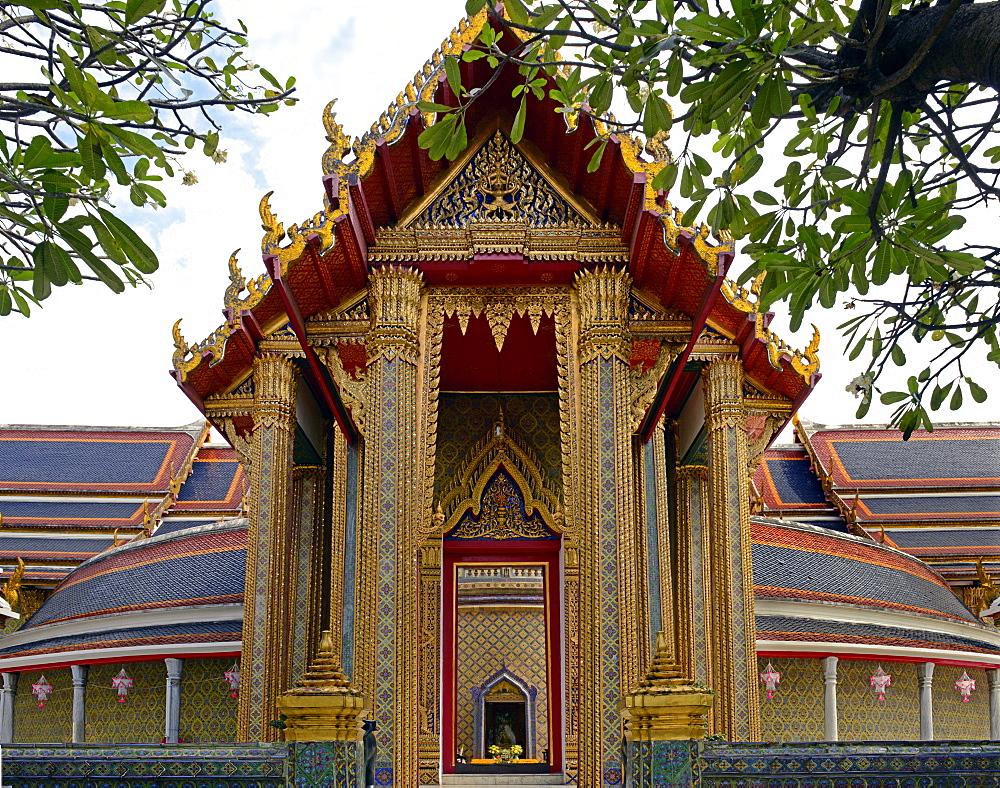 Wat Rajabopit, Bangkok, Thailand, Southeast Asia, Asia  - 238-6436