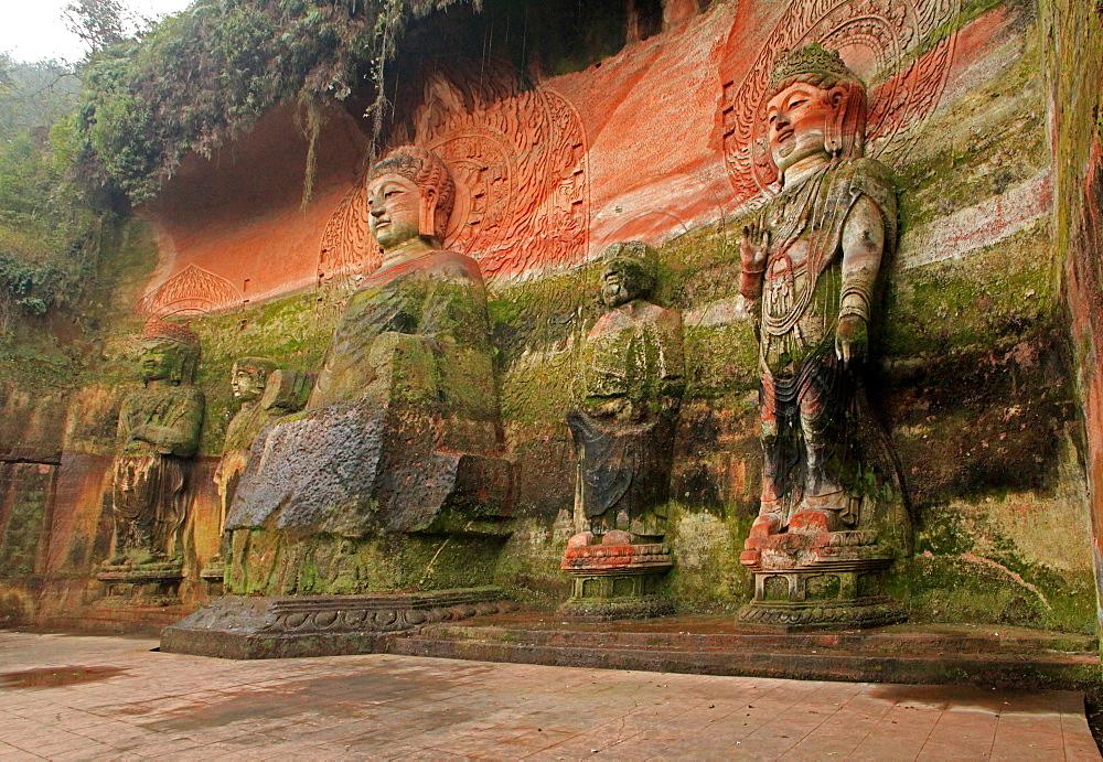 Oriental Buddha Park, Leshan, Lingyun Shan Mountain, Sichuan, China, Asia  - 238-6456