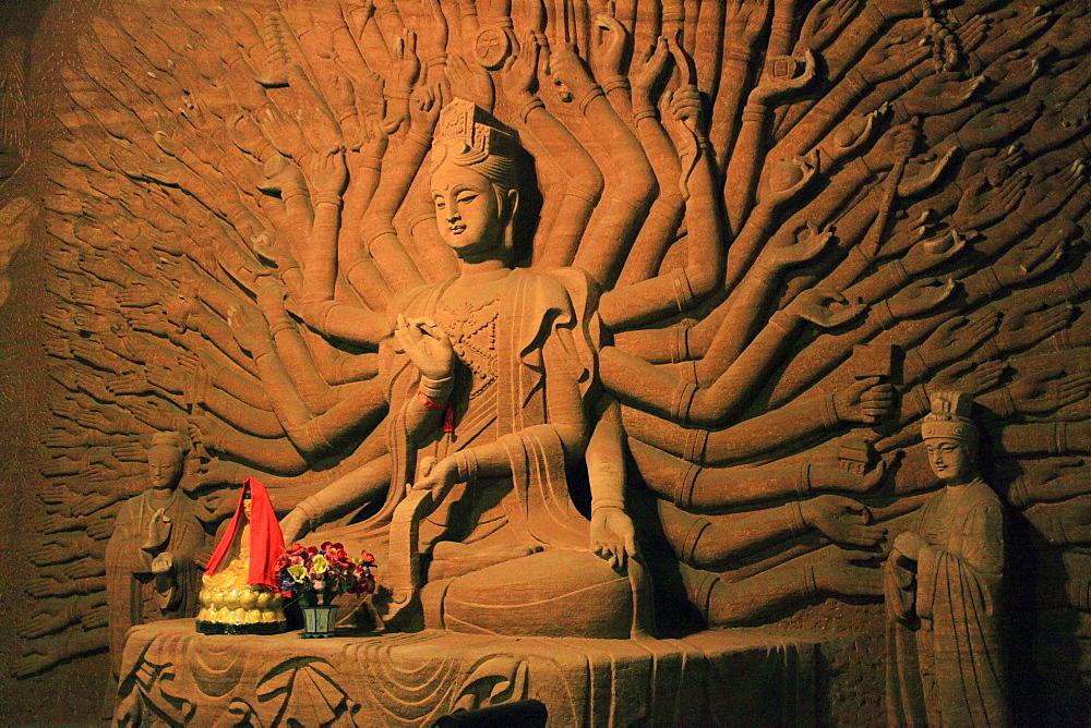 Oriental Buddha Park, Leshan, Lingyun Shan Mountain, Sichuan, China, Asia  - 238-6457