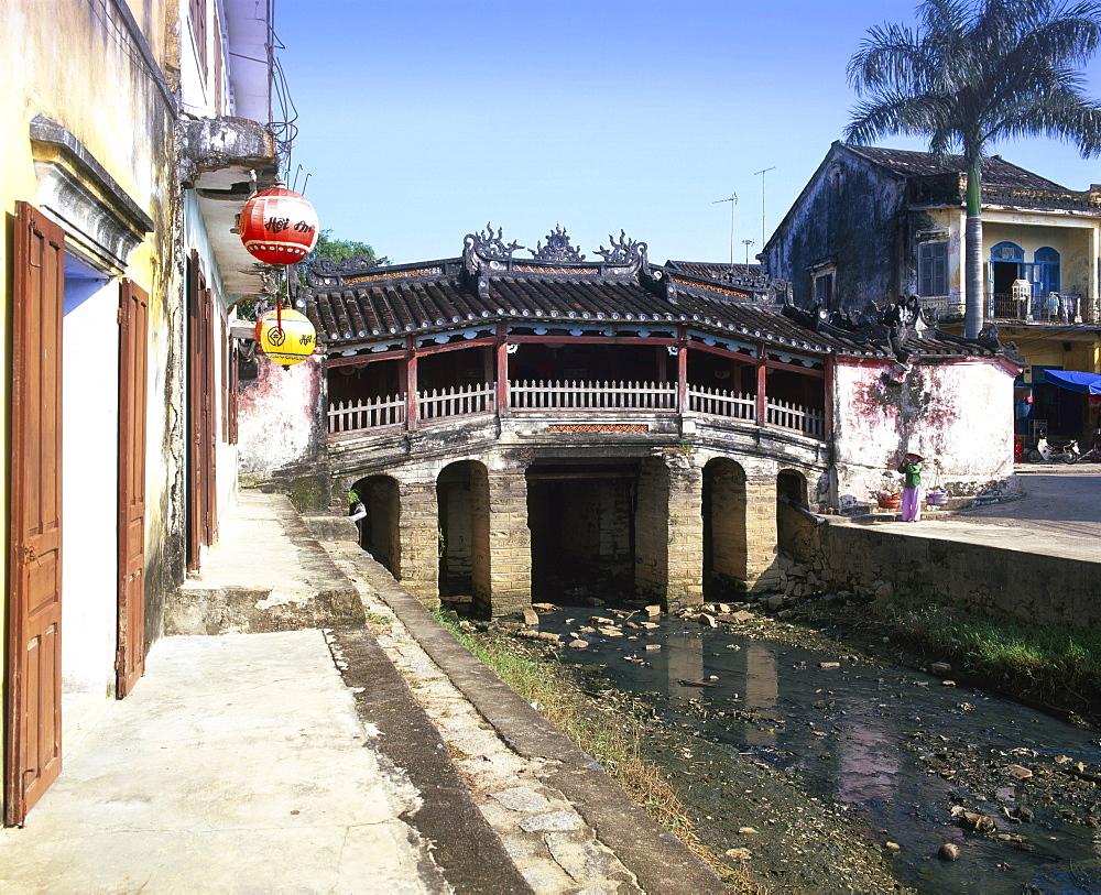 Japanese covered bridge, Hoi An, Central Vietnam, Vietnam, Indochina, Southeast Asia, Asia