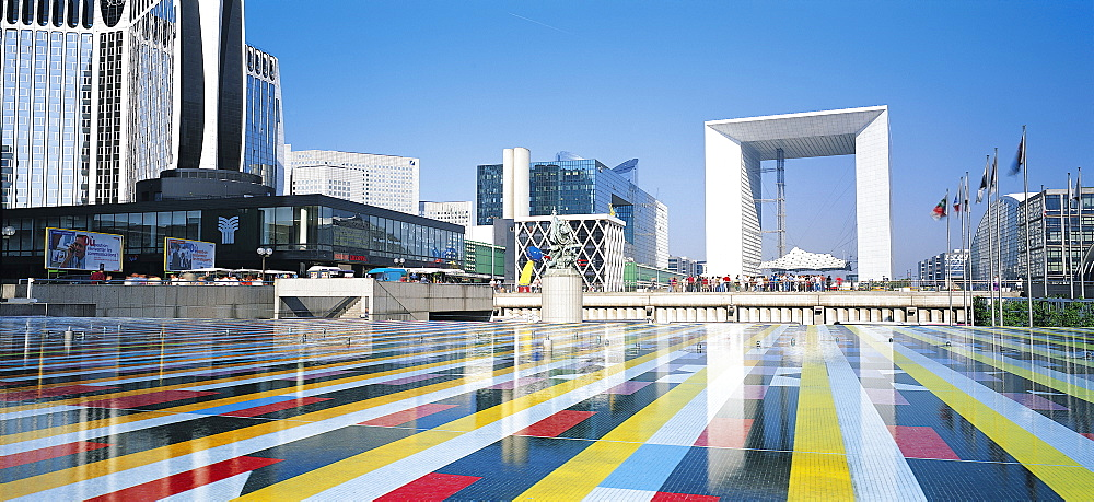 La Grande Arche De La Defense, Paris, France - 252-5448
