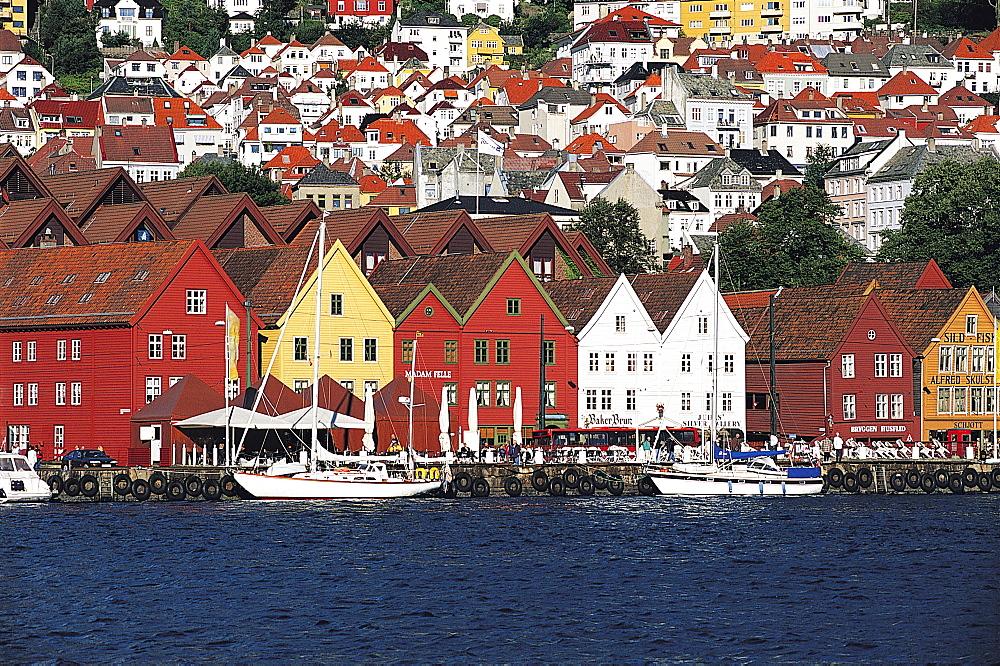 Bergen, Bryggen, Norway - 252-8069