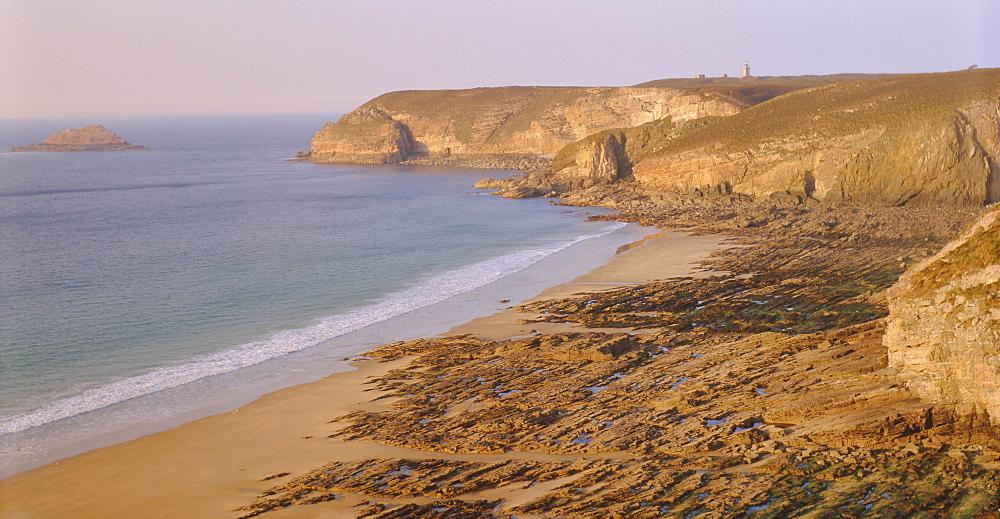 Cap Frehel, Cotes d'Armor, Emerald Coast near St. Malo, Brittany, France, Europe
