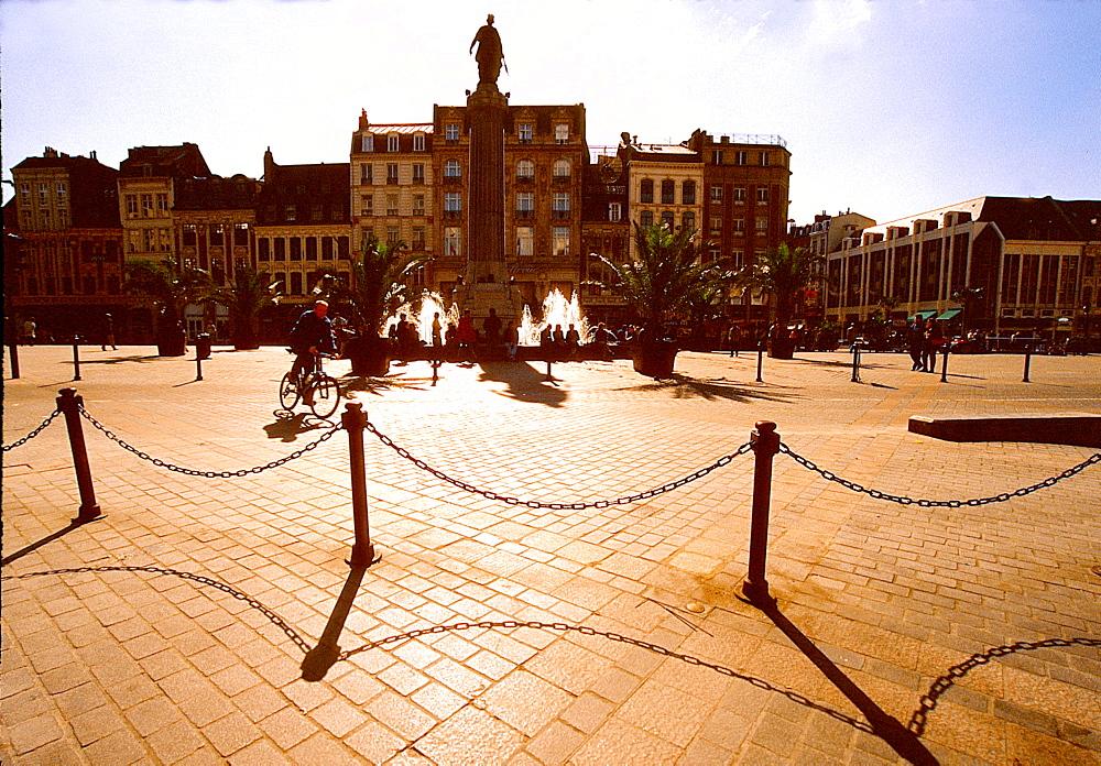 (Place de General de Gaulle), Grand-Place, Lille, Nord, France