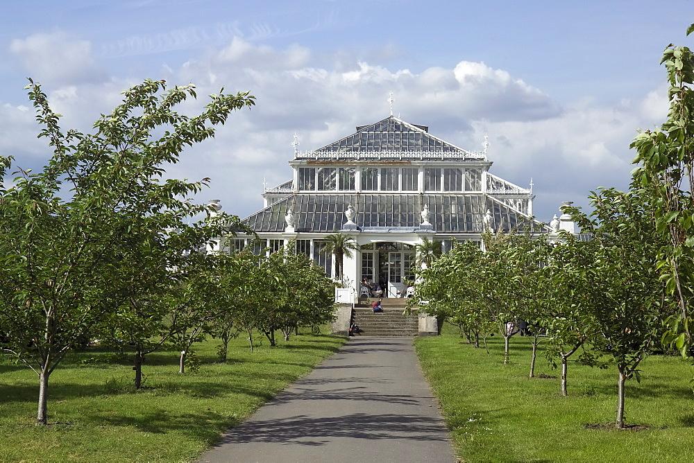 Temperate House conservatory, Kew Gardens, UNESCO World Heritage Site, London, England, United Kingdom, Europe