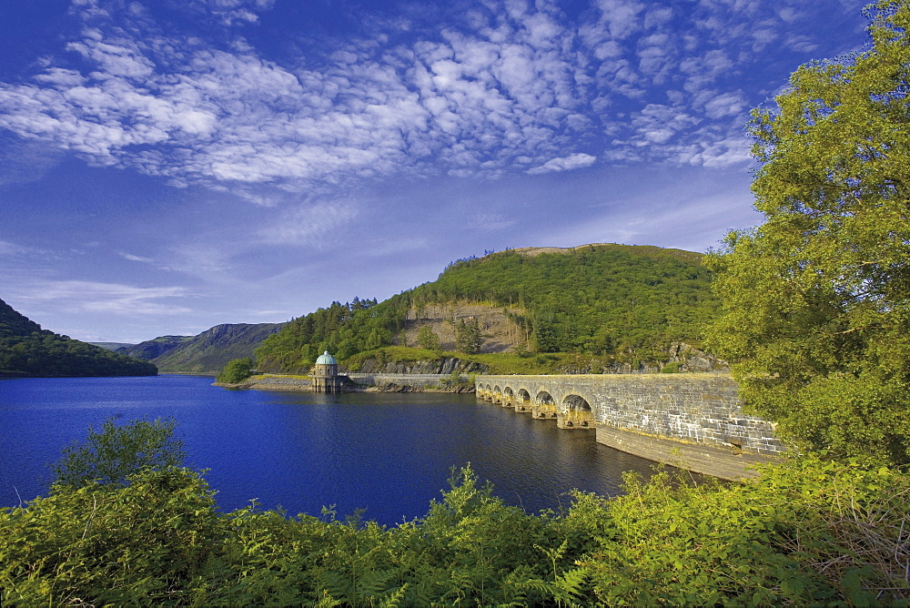 The Elan Valley, site of reservoirs providing water for Birmingham, Powys, Wales, United Kingdom, Europe