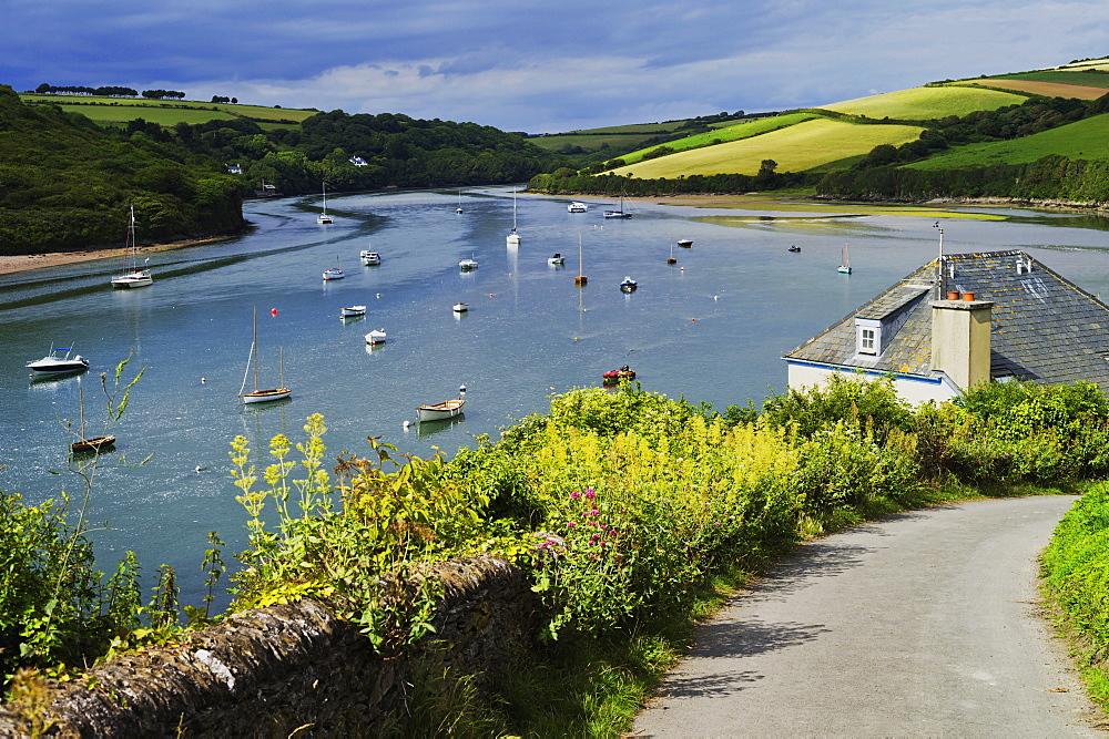 Estuary of the River Avon, Bantham, Bigbury on Sea, Devon, England, United Kingdom, Europe