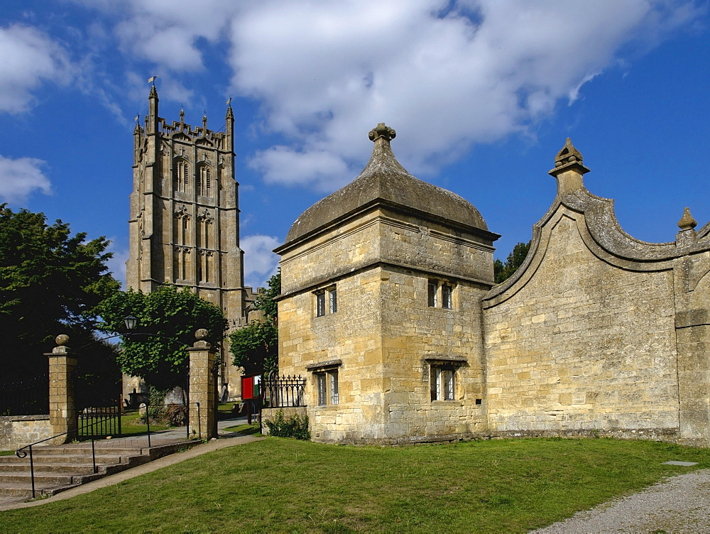The Wool Church, Chipping Campden, Gloucestershire, Cotswolds, England, United Kingdom, Europe - 255-8944