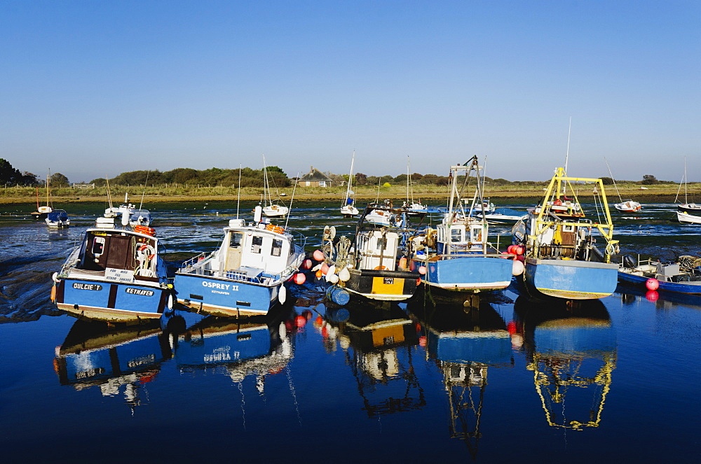 The harbour at Keyhaven, Hampshire, England, United Kingdom, Europe - 255-8958