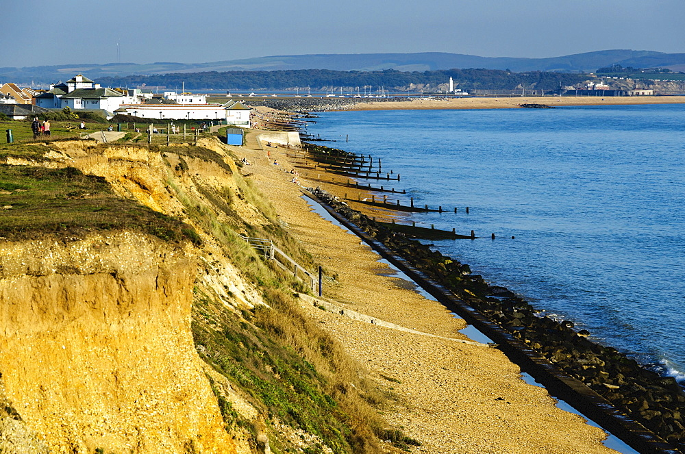 Holiday resort of Milford on Sea, Hampshire, England, United Kingdom, Europe - 255-8967