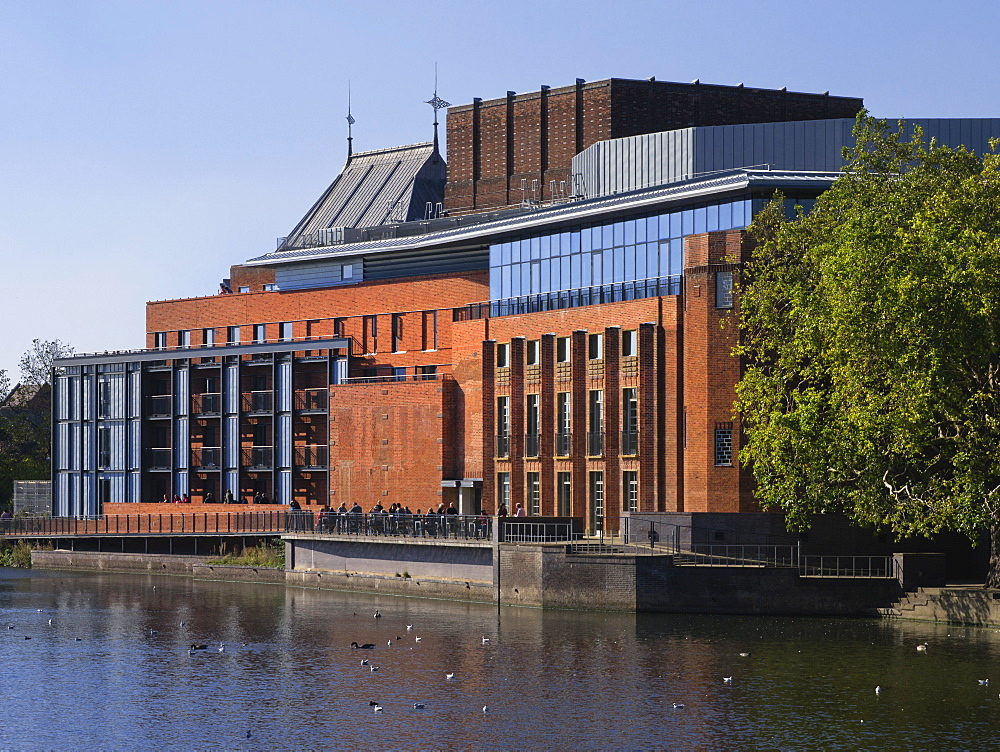 New Shakespeare Memorial Theatre, Stratford-upon-Avon, Warwickshire, England, United Kingdom, Europe - 255-8977