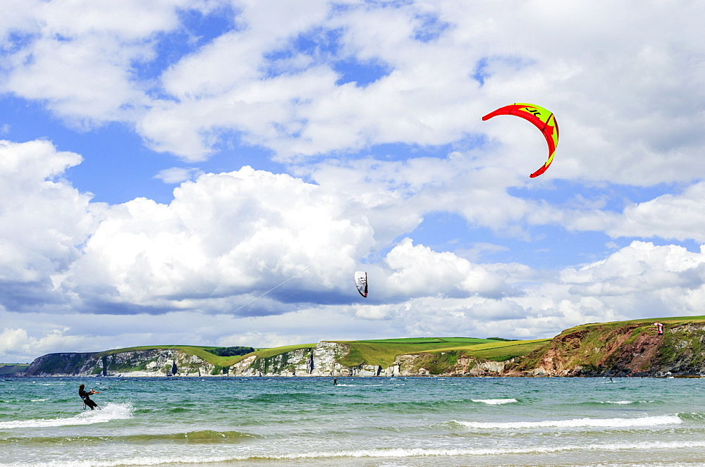 Bigbury on Sea and Burgh Island, South Hams, Devon, England, United Kingdom, Europe - 255-9032