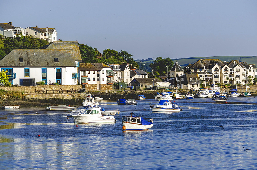 Town Quay on the Kingsbridge Estuary, Kingsbridge, Devon, England, United Kingdom, Europe - 255-9034