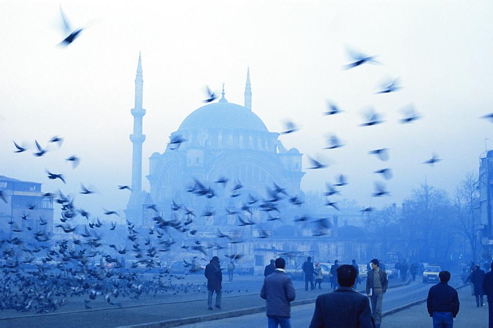 Laleli Mosque, Istanbul, Turkey, Europe, Eurasia - 256-652