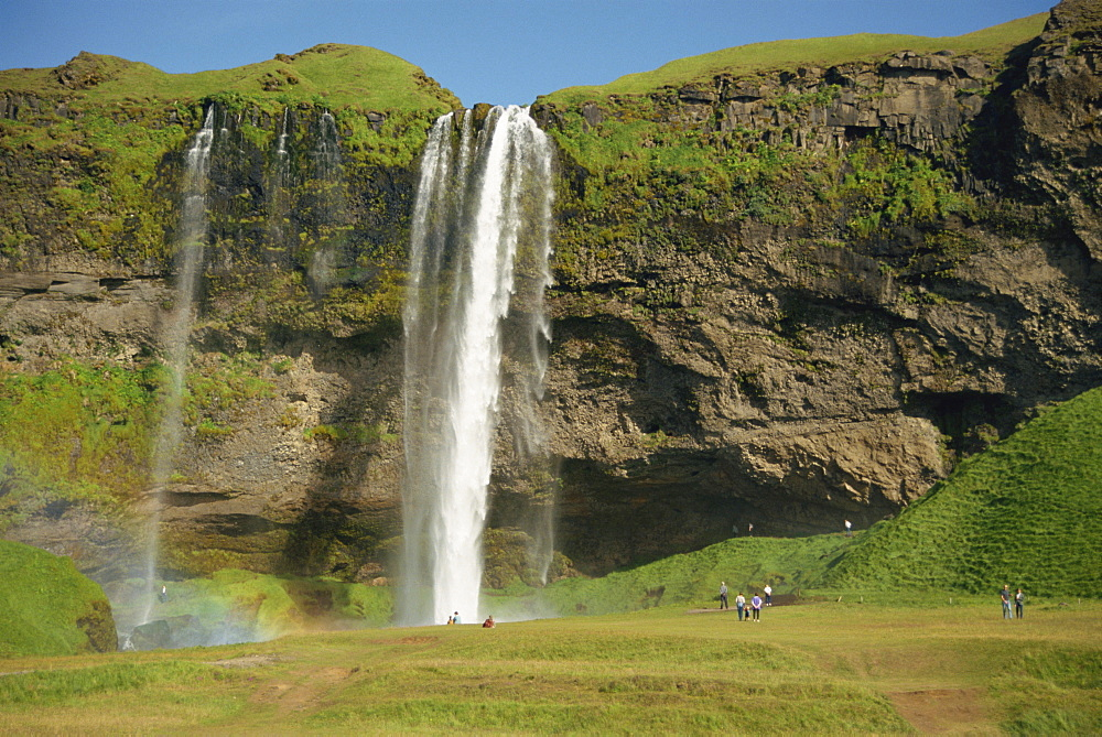Seljalandsfoss Waterfall, Iceland, Polar Regions - 29-1402