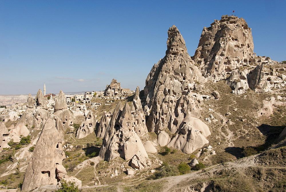 Uchisar, Cappadocia, Anatolia, Turkey, Asia Minor, Eurasia