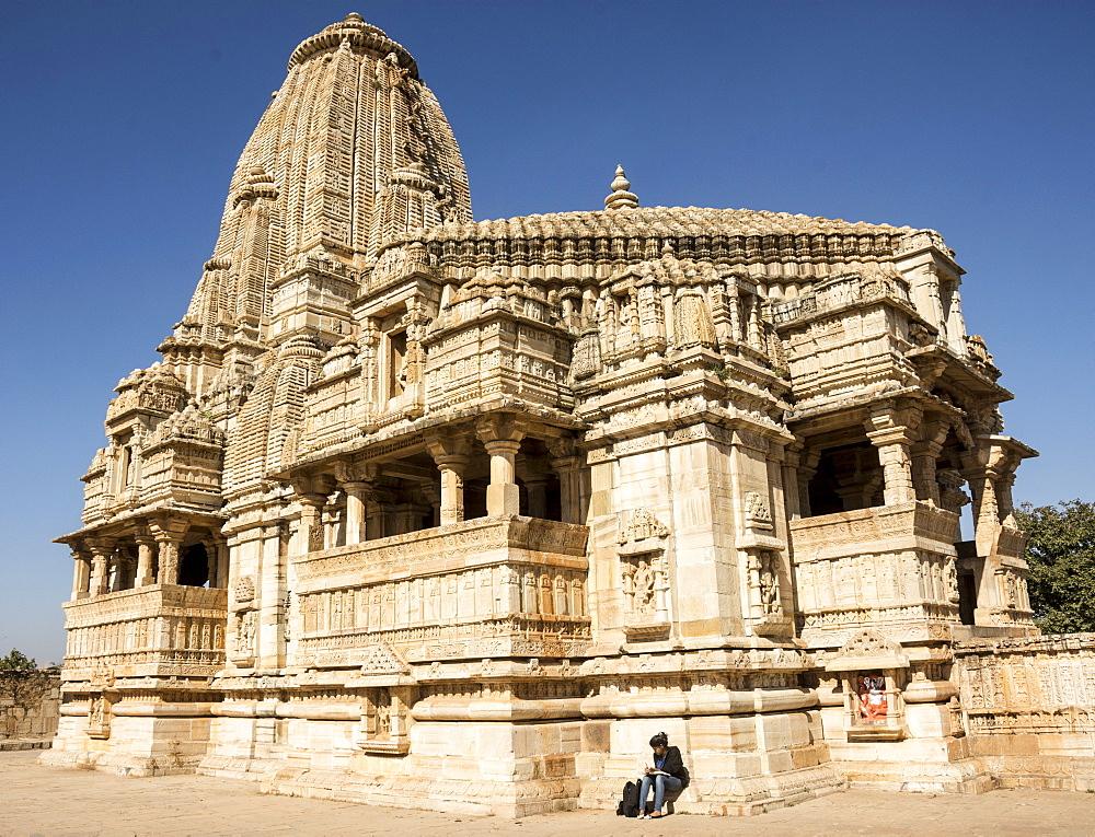 Meera Jain Temple, Chittorgarh (Fort), Chittor, Rajasthan, India, Asia - 29-5535
