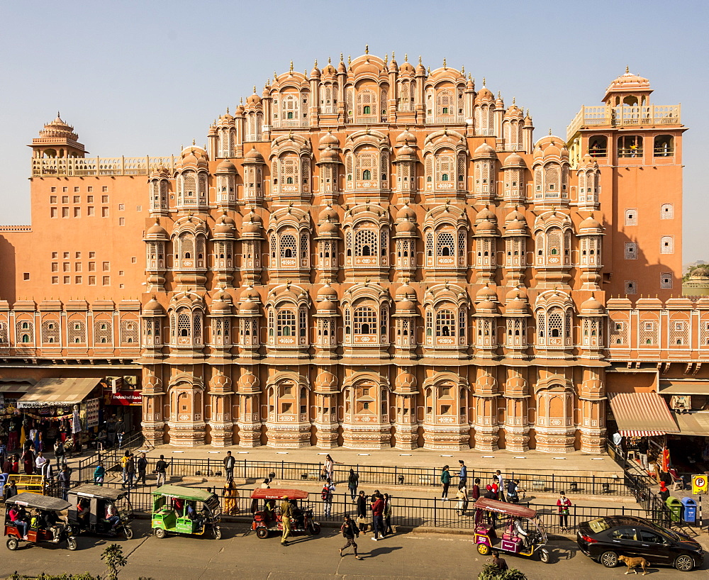Hawa Mahal, Jaipur, Rajasthan, India, Asia - 29-5543