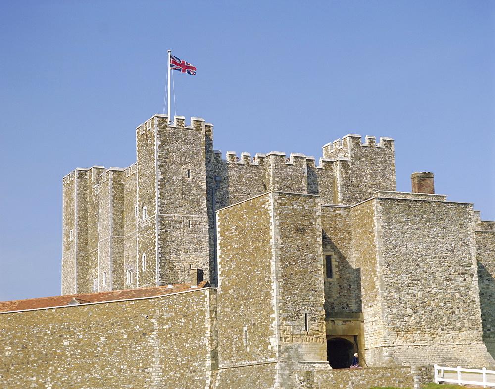 Dover Castle, Dover, Kent, England, UK