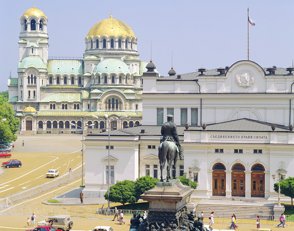 National Assembly and Alexander Palace, Sofia, Bulgaria