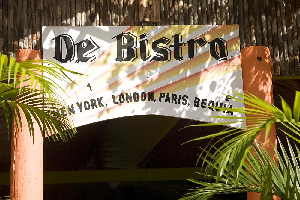 De Bistro, Port Elizabeth, Bequia, St. Vincent Grenadines, West Indies, Caribbean, Central America