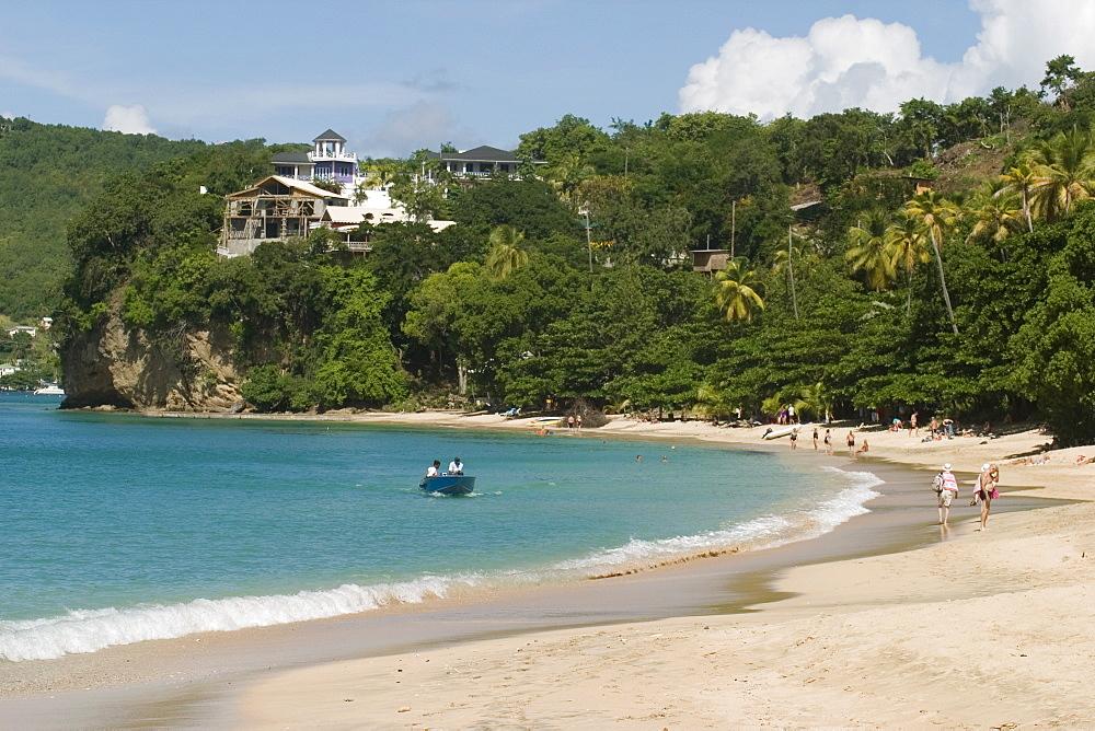 Princess Margaret beach, Bequia, St. Vincent Grenadines, West Indies, Caribbean, Central America