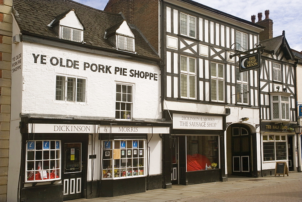 Ye Olde Pork Pie Shoppe, Melton Mowbray, Leicestershire, England, United Kingdom, Europe