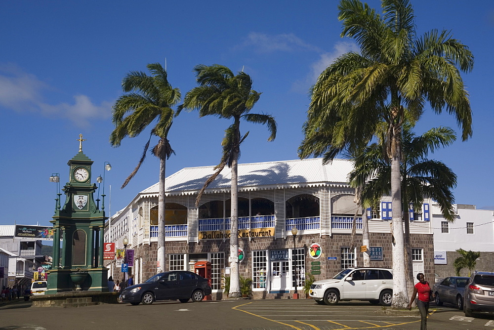 The Circus, Basseterre, St. Kitts and Nevis, West Indies, Caribbean, Central America