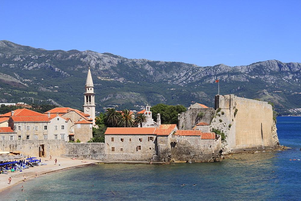 Budva old town, Montenegro, Europe