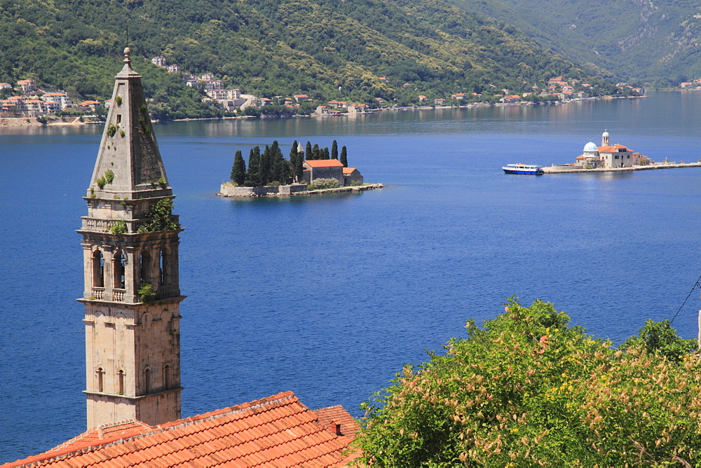 Perast and Kotor Bay, UNESCO World Heritage Site, Montenegro, Europe