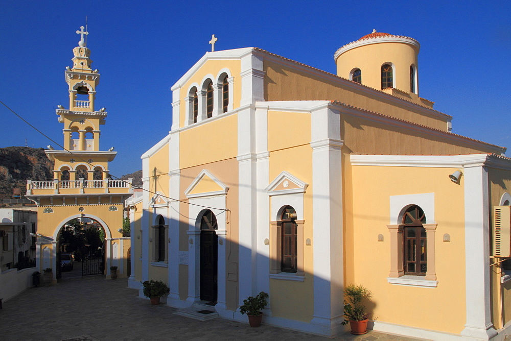 Church, Paleochora, Crete, Greek Islands, Greece, Europe