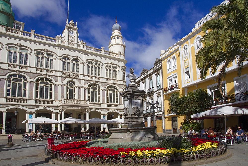 Cairasco Square, Las Palmas, Canary Islands, Spain, Europe