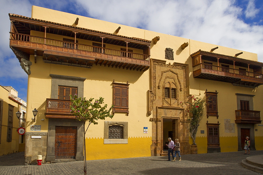 Museum-Residence of Columbus (Colon), Las Palmas, Canary Islands, Spain, Europe