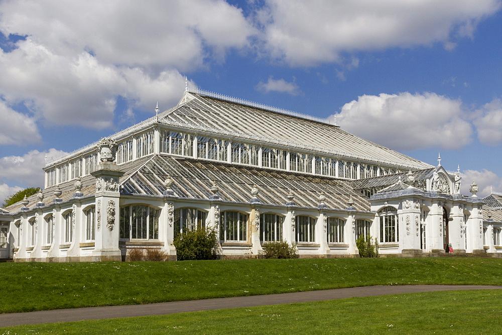 Temperate House, Royal Botanic Gardens, Kew, UNESCO World Heritage Site, London, England, United Kingdom, Europe